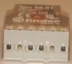 Impulsrelais  220 V AC, 1 Schliesser