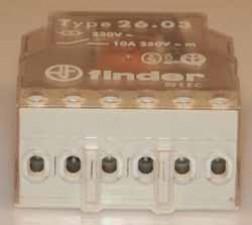 Impulsrelais  220 V AC, 1 Schliesser, 1 Öffner