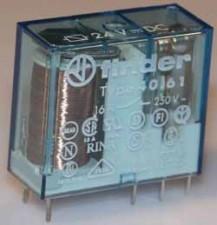 Printrelais 35-72V, 1 Umschaltkontakt, 16A / 250 V AC