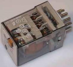 Relais 24 V AC, Steckbar, 11 polig