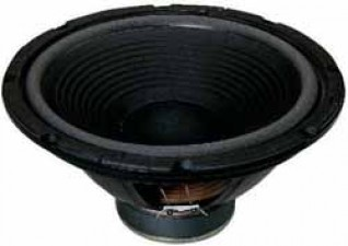 Bass-Lautsprecher mit weicher Aufhängung, 20 - 3000 Hz