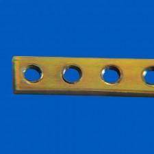 Gewindeleiste 10TE - M2.5, Länge: 50.80 mm