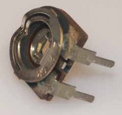 Trimmpotentiometer, 150V, 220 Ohm