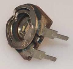 Trimmpotentiometer, 150V, 470K Ohm