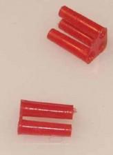 Abstandhalterung für TO-18, rot