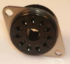 Einbausockel für Relais  11 polig