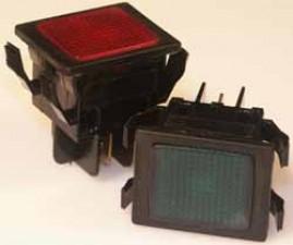 Signallampe - Neonlampe Rot, 220 V / 1mA