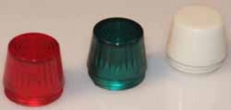 Signalleuchtkappen rot / grün /  weiss