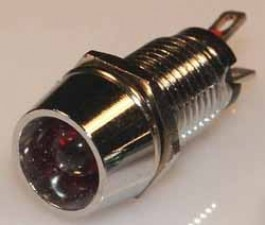 Leuchtdiode rot , 2V, 35mA