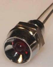 Leuchtdiode Rot, 2V, 30 mA