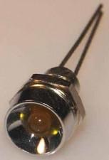 Leuchtdiode gelb, 2V, 30 mA