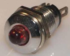 Leuchtdiode rot, 2V, 35mA