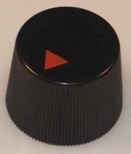 Knopf schwarz, 16mm x 12mm, rund