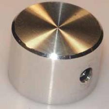 Knopf, D: 18mm, H: 12mm, ohne Strichmarke, rund