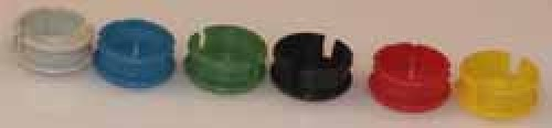 Abschlussdeckel zu Knopf ⌀10mm, grün matt