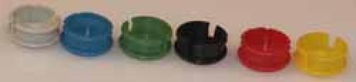 Abschlussdeckel zu Knopf ⌀10mm, schwarz matt