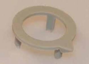 Pfeilscheibe zu Knopf ⌀10mm, grau matt