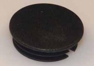 Abschlussdeckel zu Knopf ⌀21mm, schwarz matt