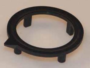 Pfeilscheibe zu Knopf ⌀21mm, schwarz matt