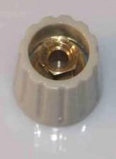 Drehknopf ⌀14.5mm, Achs-⌀6mm, grau