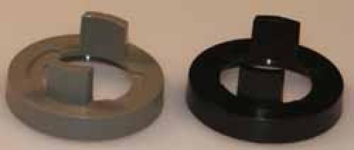 Mutterabdeckung  D:16 mm d:14.8 mm schwarz