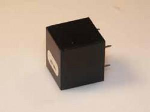 Miniatur Übertrager 1:20, 15.5 - 350 Ohm , 21 x 18 x 19 mm
