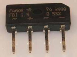 Brückengleichrichter 80 V 1.5 A SIL , Diotec