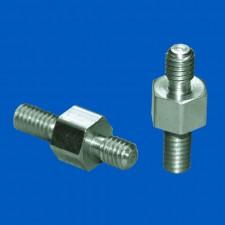 Abstandsbolzen M3x15, Stahl verzinkt, SW5.5