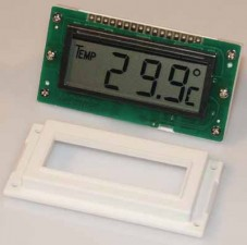 LCD-Temperaturmodul