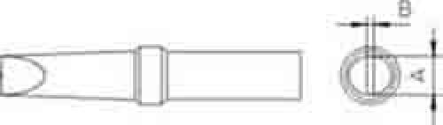 Lötspitzen Et-A, flach, 1.6mm