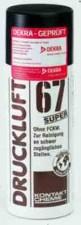 Druckluftspray Druckluft 67, 400ml