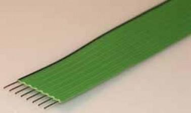 Flachbandkabel AWG 24, 11polig, Raster 2.5mm, Höhe 1.4mm, Breite 25mm