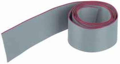 Flachbandkabel AWG 28, 15polig, Raster 1.27mm, Höhe 0.9mm, Breite 19.05mm
