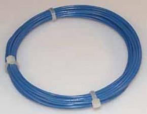 Schaltdraht mit Kunststoffisolierung (PVC), Grün, ⌀ 0.8mm, à 100m