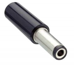 Netzgerätestecker; L:35mm; D:5.5mm; d:2.5mm, NES/J 250