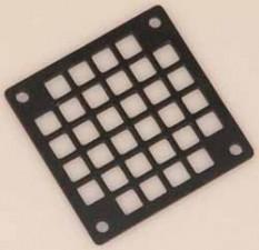 Schutzgitter,  62 x 62 mm