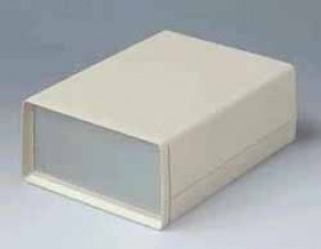 Schalengehäuse, 190 x 138 x 68 mm, mit Batteriekasten 4x1.5V, 14x50 mm