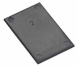 Deckplatte 20 x 20 mm