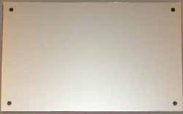 Frontplatte zu Gehäuse 9500.117 / D