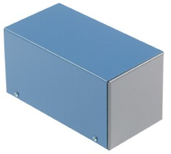 Alu-Kleingehäuse  55 x 55 x 100 mm