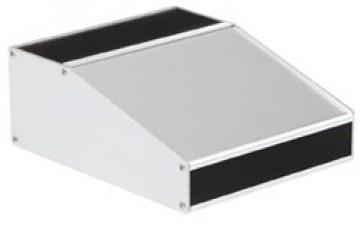 Selbstbau-Pultgehäuse  90 x 130 x 50 x 30 mm