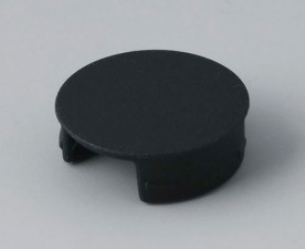 COM-KNOBS Deckel ⌀ 20mm, schwarz