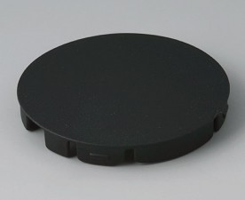 COM-KNOBS Deckel ⌀ 50mm, schwarz