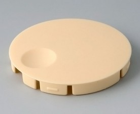 COM-KNOBS Deckel ⌀ 50mm, gelb