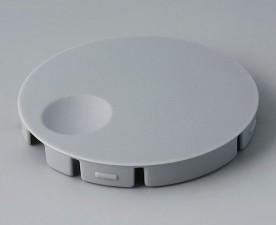 COM-KNOBS Deckel ⌀ 50mm, grau