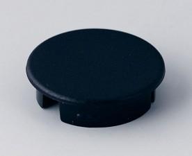Abschlussdeckel zu Knopf ⌀20mm, schwarz