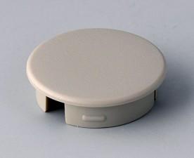 Abschlussdeckel zu Knopf ⌀20mm, hellgrau