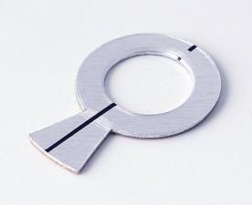 Stator Aluminium zu Knopf ⌀16mm