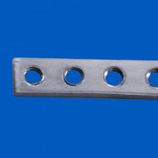 Gewindeleiste 15TE - M2.5, Länge: 76.20 mm