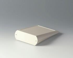 Pultgehäuse COMTEC 150 flach, 200 x 150 x 20 / 51.5, grauweiss mit Batteriefach